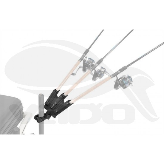 Triple rod support