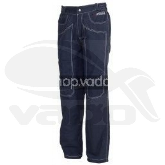 Lined Blue Pants