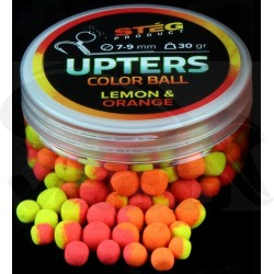 Upters collor ball 7-9mm Lemon & Orange
